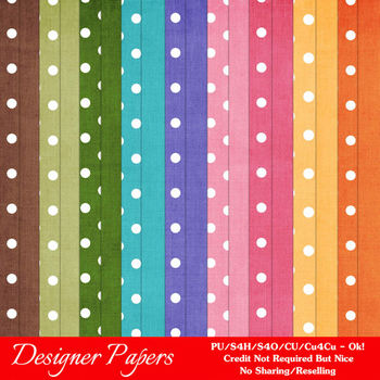 Easter Colors 2011 Digital Papers Backgrounds 1