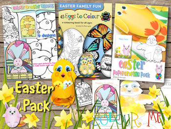Easter Colouring and Papercrafting Activities