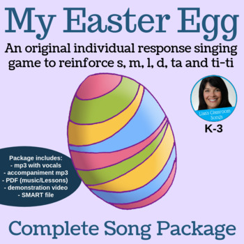 "Easter Complete Music Lesson Bundle - ""My Easter Egg"" Game"