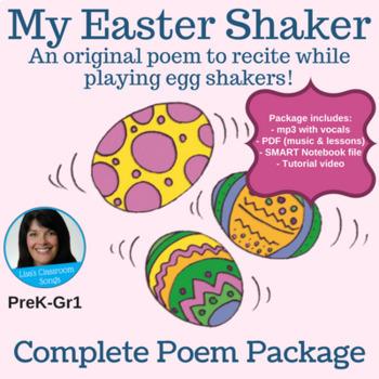"Easter Complete Poem Bundle - ""My Easter Shaker"" by Lisa Gillam"