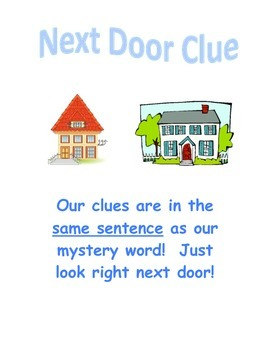 Context Clues Posters!