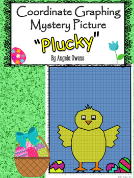 Easter Coordinate Graphing Mystery Picture: Plucky