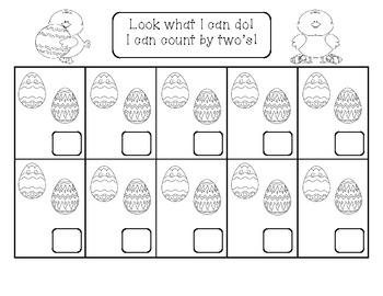 Easter Count by Twos