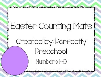 Easter Counting Mats
