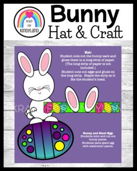 Easter Craft Combo Pack: Bunny & Egg, Bunny Hat