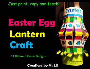 Easter Craft  ::  Easter Egg Activity ::  Easter Egg Craft