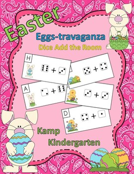 Easter Dice Add the Room (Sums to 10)