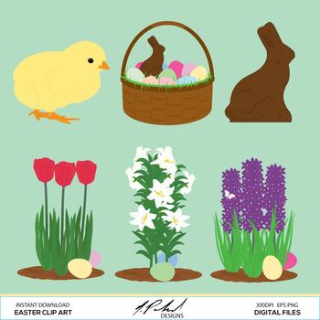 Easter Digital Clip Art