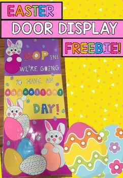Easter Display FREEBIE!