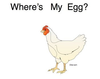 Easter Easy Reader, Where Is My Egg?