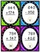 Easter Egg 3-Digit Addition/Subtraction SCOOT Freebie