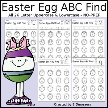 Easter Egg ABC Find