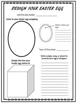 Easter Egg Activity: Plus Easter Math Problem