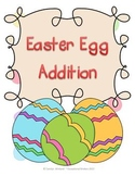 Easter Egg Addition Mats - Decomposing Numbers