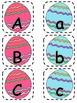 Alphabet Matching Cards ~ Easter Egg