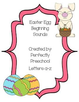 Easter Egg Beginning Sounds
