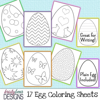 Easter Egg- Coloring Pages