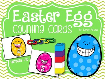 #betterthanchocolate Easter Egg Counting Cards