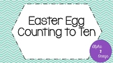 Easter Egg Counting to Ten