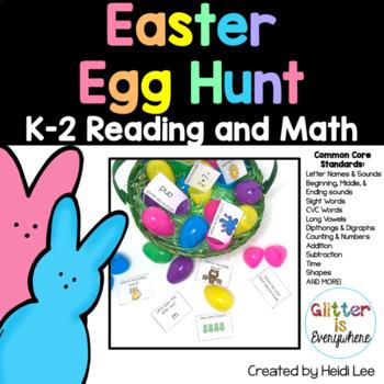 Easter Egg Hunt: A Springtime Scavenger Hunt {Kindergarten