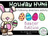 Easter Egg Hunt ~ Listening and Following Directions