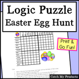 Easter Logic Puzzle: Easter Egg Hunt for Gifted and Talent