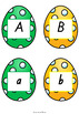 Easter Egg Letter Match QLD Beginners Font