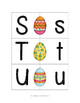 Easter Egg Letter Matching Cards - Uppercase to Lowercase