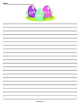 Easter Egg Lined