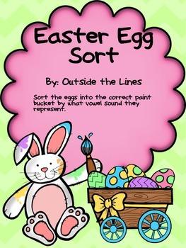 Easter Egg Long Vowel Sorting