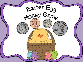 Easter Egg Money Game