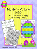 Easter Egg Mystery Picture- Adding 1 and 10