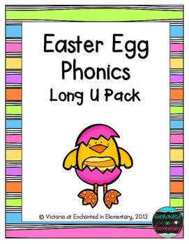 Easter Egg Phonics: Long U Pack