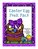 Easter Egg PreK Printable Learning Pack