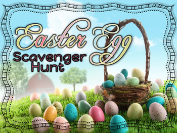 Rhythm Game - Easter Egg Scavenger Hunt - Ta, Ti-Ti, Ta Rest