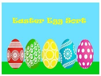 Easter Egg Sort :Using a Dichotomous Key