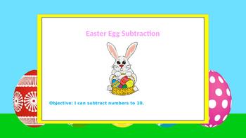 Easter Egg Subtraction