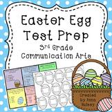 Easter Egg Test Prep: 3rd Grade Communication Arts