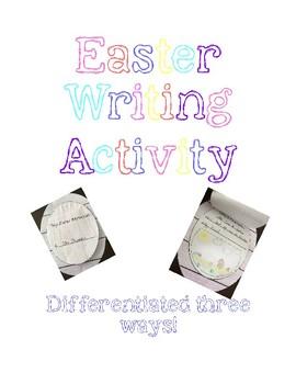 Easter Egg Writing Craft