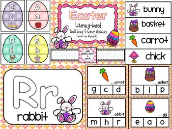 Easter / Spring Theme Literacy Centers and Small Group Activities