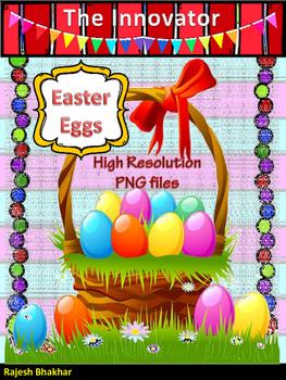 Easter Eggs - Graphical Art...!
