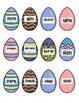 Easter Eggs Nouns, Verbs, Adjectives Sort