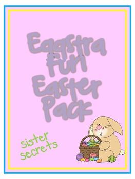 Easter:  Eggstra Fun Easter Pack