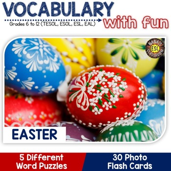 Easter: Flash cards and Word puzzles