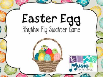Easter Rhythm Fly Swatter Game