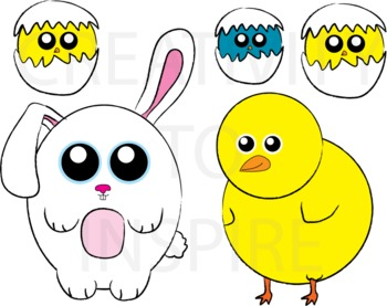 Easter Friends - Color Pack 1