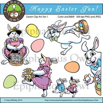 Easter Fun Clip Art Set