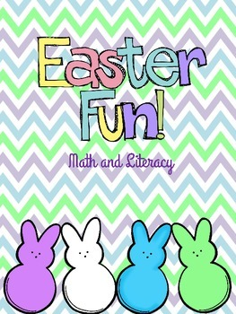 Easter Math and Literacy Fun Packet