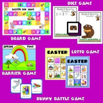 Easter Games Set