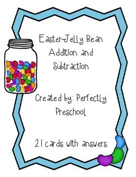 Easter Jelly Bean Addition and Subtraction